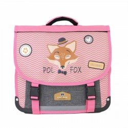 "Cartable réversible POL FOX 35cm ""The Coolest"""