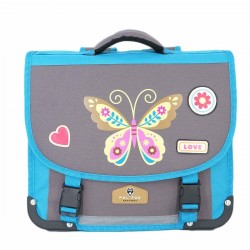 "Cartable POL FOX 38cm ""Butterfly"""
