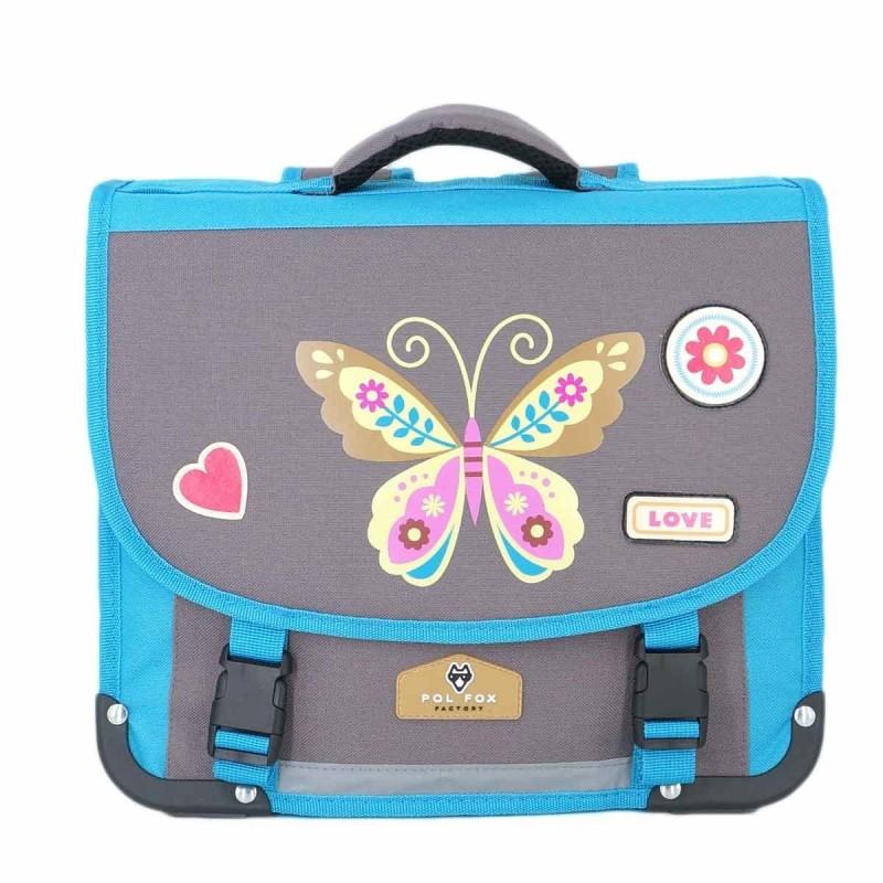 """Cartable POL FOX 38cm """"Butterfly"""""""