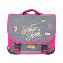 "Cartable POL FOX 38 cm ""New York"""