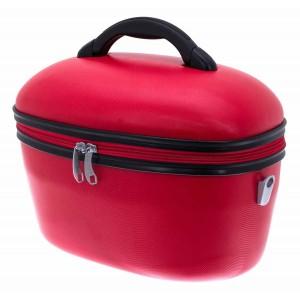 Vanity rigide DAVIDT'S ABS - Rouge Vif