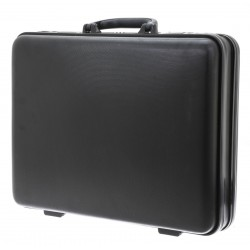 Attaché-case rigide DAVIDT'S en ABS - noir
