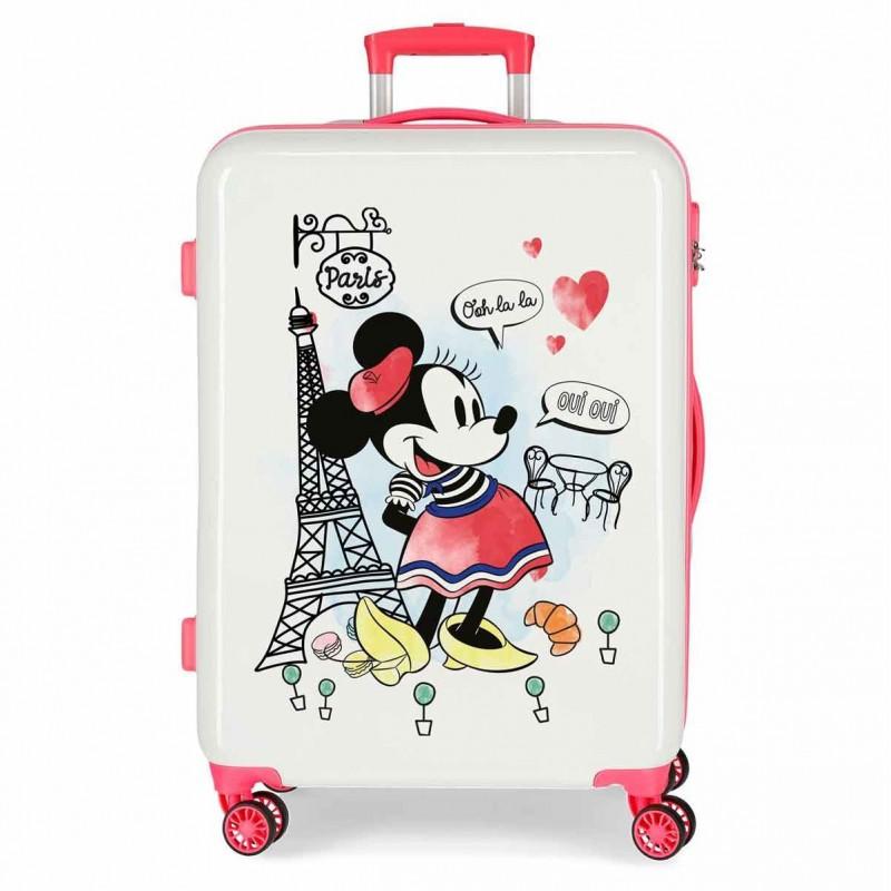 Valise 4 roues 68 cm Minnie Around The World Paris - Disney