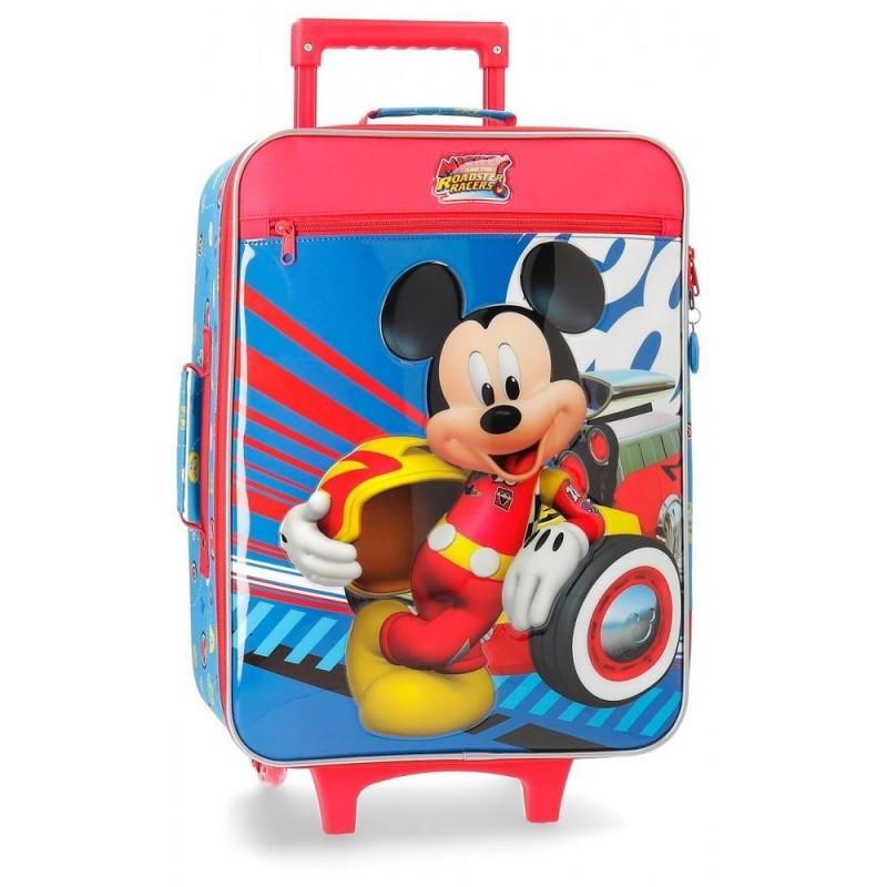 Valise cabine souple 50cm enfant  World Mickey.