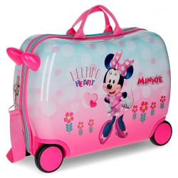 "Valise trotteur ""heart"" MINNIE"