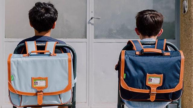 Cartables, sacs à dos et trousses scolaires de marque